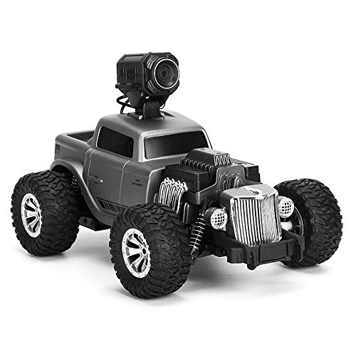 AEDWQ RC Remote Control Toy Car 1:16 Ratio 4WD Electric All Terrain Off-Road Vehicle FPV Camera 2.4GHz Radio Controller High Speed Racing Bigfoot Monster Truck, Climbing Car, Best Gift