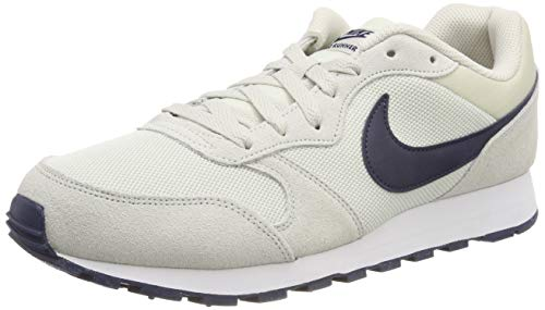 Nike Md Runner 2, Herren Gymnastikschuhe, Grau (Light Bone/Obsidian 009), 44 EU