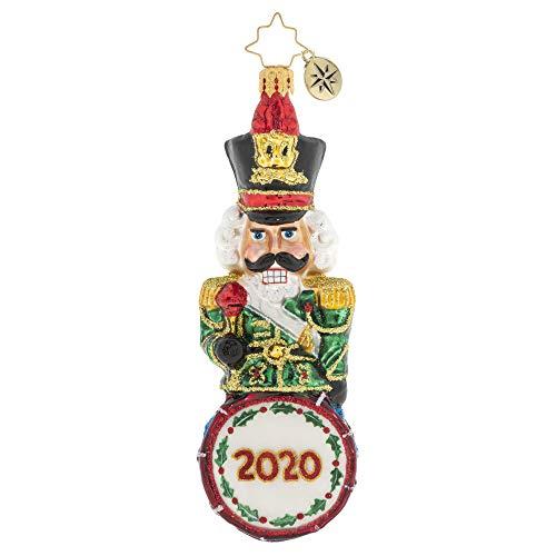 Christopher Radko Hand-Crafted European Glass Christmas Ornament, Drumline Nutcracker 2020