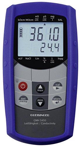 GHM Greisinger 611246 Kit de conductivité Compteur, Bleu, 8,6 x 16,0 x 3,7 cm