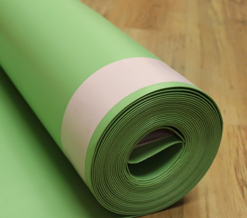 FloorMuffler Flooring Underlayment Acoustical and Moisture Barrier for Wood and Laminate with...