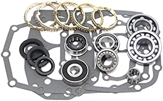 W55 W56 W58 forToyota 5 Speed Transmission Rebuild Kit with SYNCHROS 1978-91