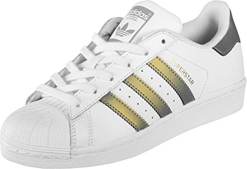 adidas Originals Superstar Sneaker D98001 White/Grey Four Gr. 38 (UK 5)