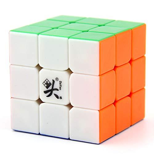 Dayan II Guhong V2 3x3 magique Speedcube 6 couleurs (pas d'autocollant)