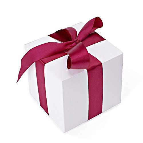 HOUSE DAY Confezioni regalo 10x10x10cm, Scatole regalo in carta kraft con coperchi per regali, Creazione, Cupcake, Scatole di cartone, Scatole proposte da damigella, Scatole bomboniere 100Pcs