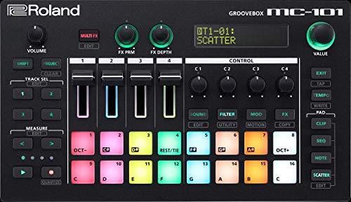 Roland MC-101 AIRA DJ Groovebox - Produktionsstudio für die Hosentasche