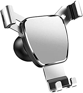 """Gardezi Mobile phone cell holder for car air vent mount gravity function for apple Samsung and all other mobiles[4.6""""-7""""][..."""
