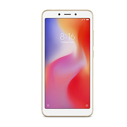Xiaomi Redmi 6A 5.45' SIM Doble 4G 2GB 16GB 3000mAh Oro - Smartphone (13,8 cm (5.45'), 2 GB, 16 GB, 13 MP, Android, Oro) [versión española]
