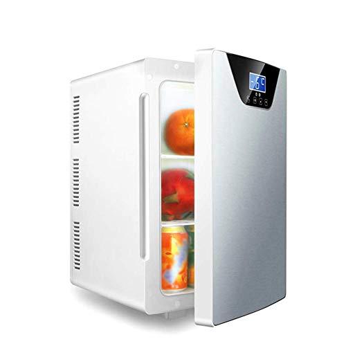 SYLOZ Mini refrigerador de 20 litros de Triple núcleo Nevera portátil con Pantalla de Temperatura, Conveniente for los Coches, Casas, Viajes, etc