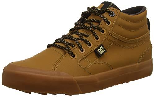 DC Shoes (DCSHI) Evan Smith Winter-High-Top Shoes for Men, Bottes & Bottines Souples Homme, (Wheat/DK Chocolate), 47 EU
