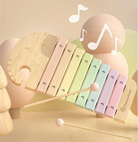 U.STAR ぞうさん 木琴 木のおもちゃ モンテッソーリ教具 知育玩具 楽器