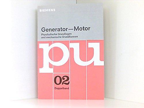 Generator / Motor. Physikalische Grundlagen und mechanische Grundformen