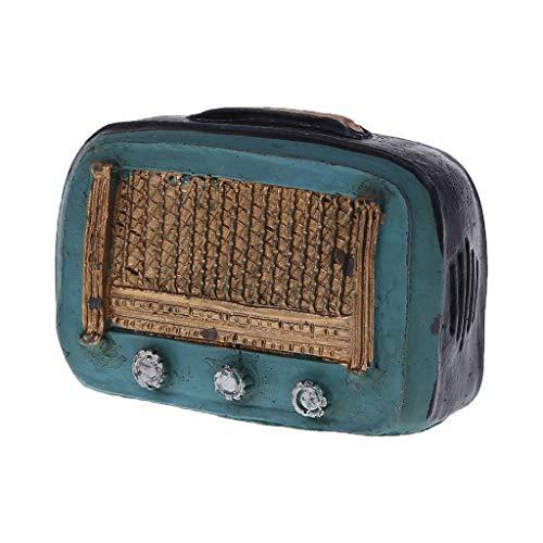 VIccoo Décoration, Accessoires de Photographie Bébé Photo Shot Studio Vintage Rétro Machine Phonographe Radio Téléphone Antique Creative Mini Ornement - 2