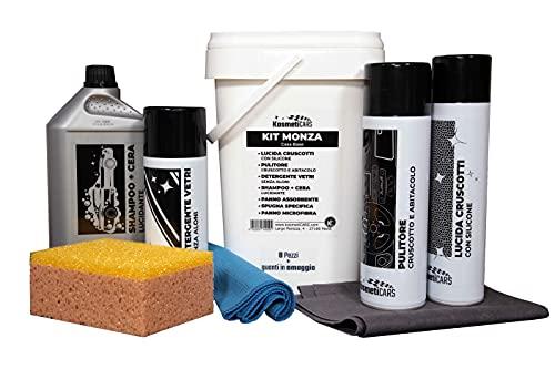 KosmetiCARS - Kit Monza - Set Professionale per la Pulizia e la Cura dell Auto Moto Camper