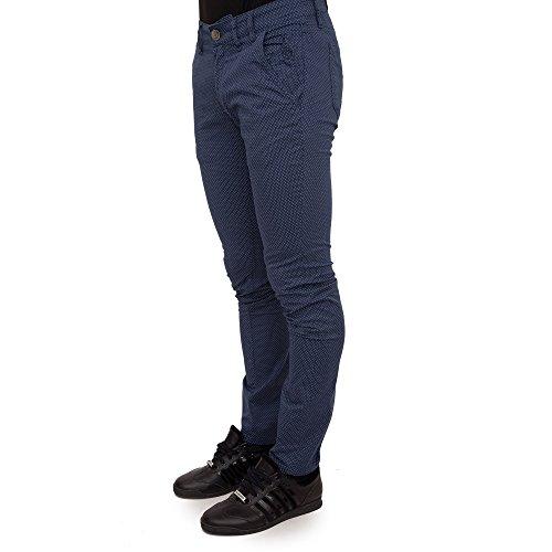 JECKERSON Pantalone Uomo 4081 (Blu CER.s), 42 MainApps