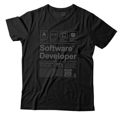 Camiseta Programação Camisa Programador Engraçada Desenvolvedor Software (GG)