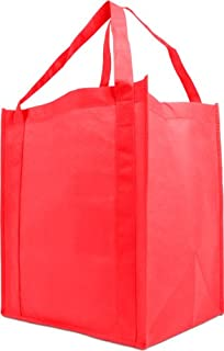 cheap red tote bags