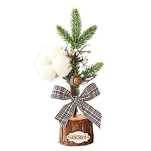 SANHOC Kiefer-Nadel-Bonsai mit Topf künstliche Anlage/Blumen Hochzeit/Weihnachten Balkon Bonsai Winter Home-Dekor-Zubehör: b