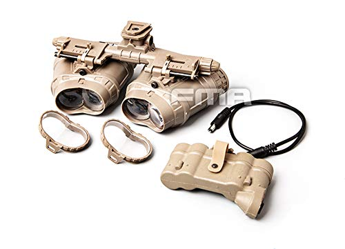 FMA Airsoft Hunting Tactical GPNVG 18 Night Vision Goggles Dummy Binoculars No Function NVG Model (DE)