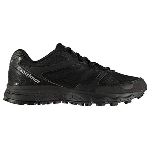 Karrimor Mens Tempo 5 Trail Running Shoes Lace Up Lightweight Mesh Upper Black UK 9 (43)