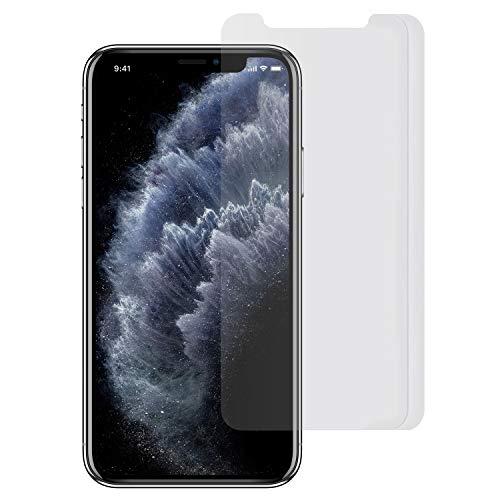 Arktis Folie kompatibel mit iPhone 11 Pro und iPhone XS/X [2 Stück] kristallklare Premium Display Schutzfolie Displayfolie, hüllenfreundlich, Face-ID kompatibel, einfache und blasenfreie Aufbringung