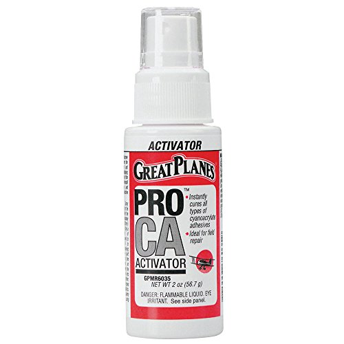 Price comparison product image Great Planes Pro CA Foam Safe Activator (Accelerator) Pump Spray 2 oz