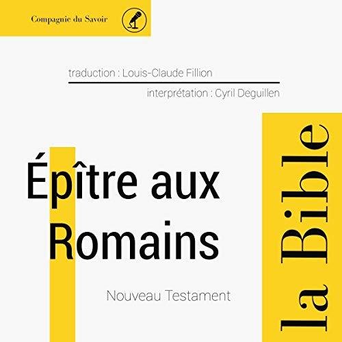 Épître aux Romains audiobook cover art