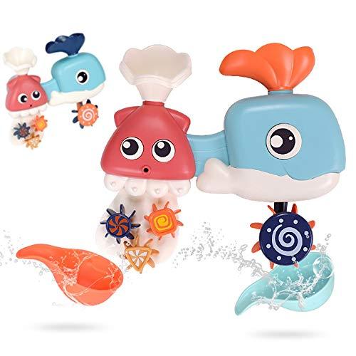 Rain City 2019 Whale Fun Toy Douche Bébé Enfant Jouant Eau Robinet Pulvériser de l'eau Convient pour bébé sur 3 Ans