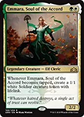 A single individual card from the Magic: the Gathering (MTG) trading and collectible card game (TCG/CCG). This is of Rare rarity. From the Guilds of Ravnica set.