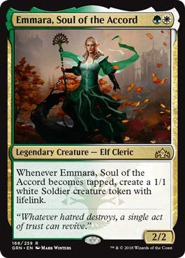 Magic The Gathering - Emmara, Soul of The Accord (168/259) - Guilds of Ravnica