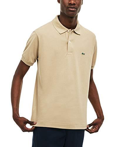 Lacoste L1212, Camisa de Polo para Hombre, Beige (Viennois), XL