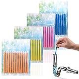 JAWA Abflussreiniger Sticks - 48 Abfluss Sticks um Verstopfungen vorzubeugen - Kraftvolle Abfluss Geruchskiller - Erfrischende Abflusssticks - Drainsticks für die Rohrreinigung