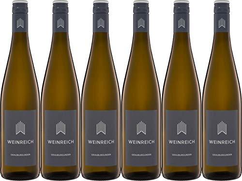 Weinreich Grauburgunder 2019 Trocken Bio (6 x 0.75 l)