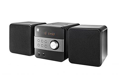 Dual ML 22 stereo-installatie (USB-aansluiting, cd-speler, radio en afstandsbediening) zwart