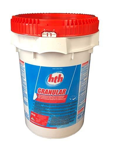 HTH Calciumhypochlorit Granulat - schnell lösliches + anorgisches Chlor mit 68% Aktivchlor 40 kg