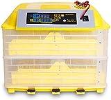ZT Huevos Incubadora automáticos 112 Huevos con Control de Temperatura Inteligente Dual Potencia Multifunción Multifunción Casa Digital Casa Uso Pollo Ganso Duck Codorniz Poulestock (Size : 112egg)