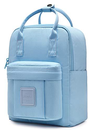 HotStyle BESTIE 12' Small Backpack for Women, Girl's Cute Mini Bookbag Purse, Little Square Travel Bag, PowderBlue