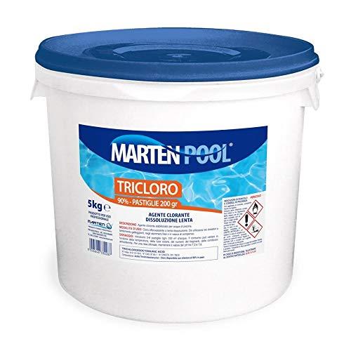 MARTEN - TRICLORO 90% PASTIGLIE 200G KG5