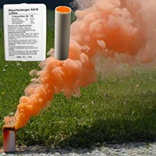 orange smoke stick