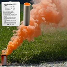 COLOR SMOKE AX-18 (Box with 5 Cartridges of the Same Color)-ORANGE