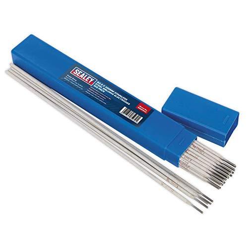 SEALEY wess1025Schweißen Elektroden-Edelstahl ˜ 2,5x 350mm 1kg Pack, Ø2.5 x 350 mm, 1