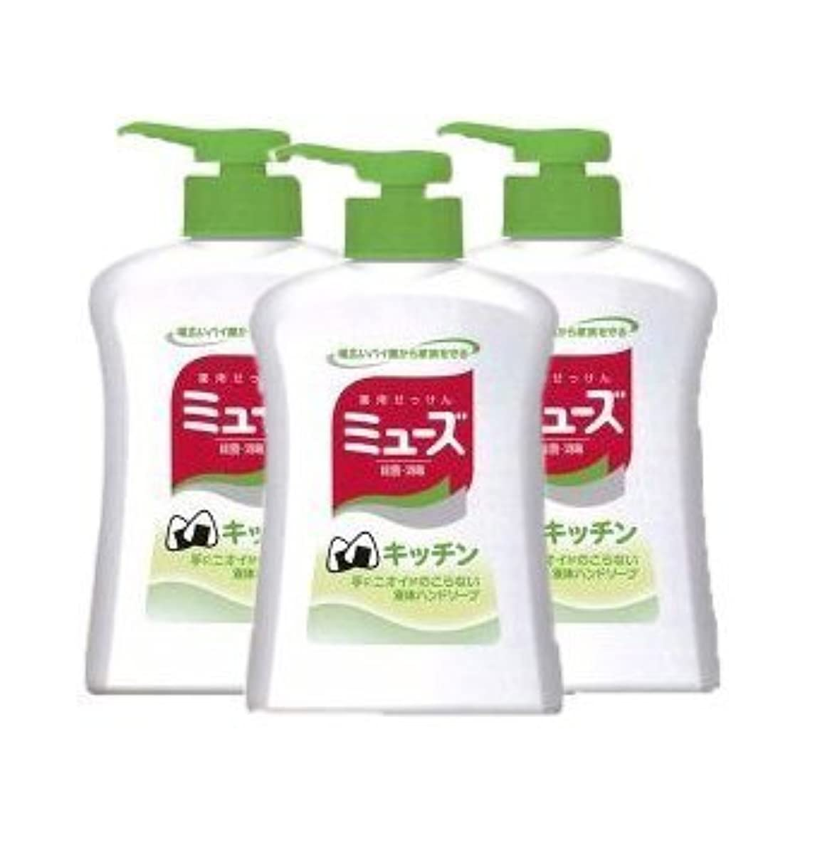 軽嫌いのヒープ【アース製薬】アース 新キッチンミューズ 250ml ×3個セット
