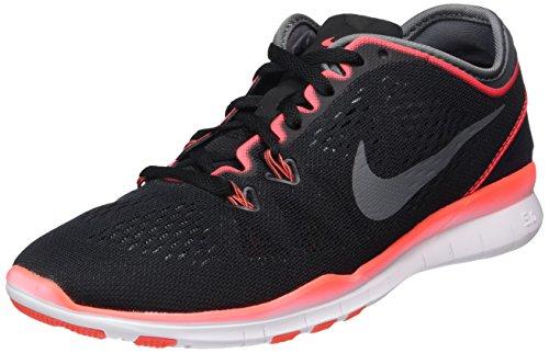 Nike Damen Free 5.0 TR Fit Hallenschuhe, Schwarz (Schwarz), 42 EU