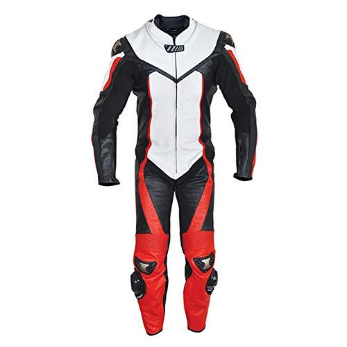 Corso Fashion Herren Motorrad Lederkombi - Motorrad Rennsport Schutzkleidung Bikerausrüstung - Maßanfertigung Style196