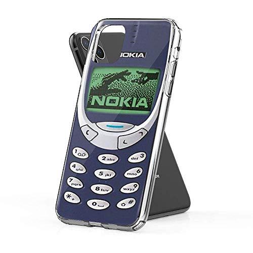 ooppb Compatibile con iPhone X/XS Custodia Nokia 3310 Protezione Antiurto Pure Clear Custodie per Telefono Cover