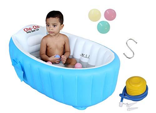 Cho-Cho Inflatable Bath Tubs European Standard Inflatable Baby Bath Tub with Pump