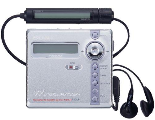 Sony MZ-N707 - Reproductor MiniDisc portátil, Color