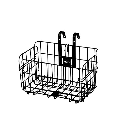 Jelife Front Bike Basket Bicycle Basket with Screws Foldable...