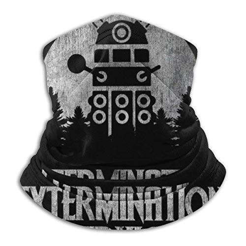 Davros Dalek Extermination Services Doctor Who Face Cover Bandanas para Dust, Outdoor, Festivales, Deportes