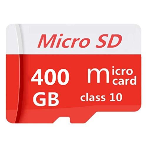 Micro-SD-Karte 128 GB / 256 GB / 400 GB / 512 GB / 1024 GB Speicherkarte Micro SD Klasse 10 Speicherkarte Micro SD SDXC High Speed mit SD-Adapter (400 GB-A)